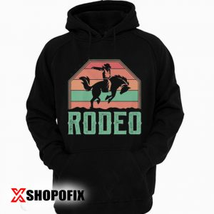 Western Horse Riding Rodeo Hoodie