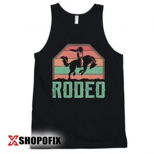 Western Horse Riding Rodeo Tanktop