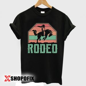 Western Horse Riding Rodeo Tshirt