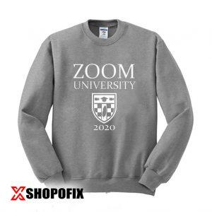 Zoom University Shirt, Student Teacher Gift Sweatshirt