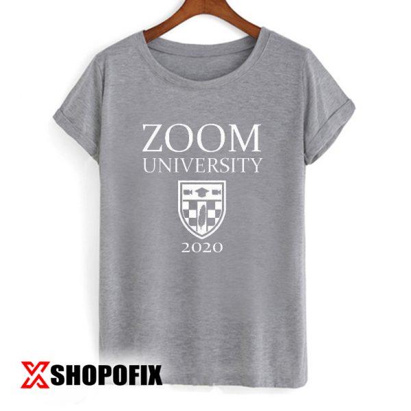 Zoom University Shirt, Student Teacher Gift TShirt