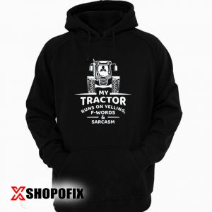 tractor gifts hoodie