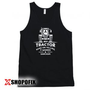 tractor gifts tanktop