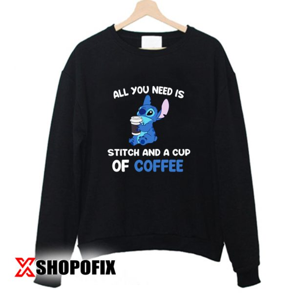 all you need is stitches sweatshirt