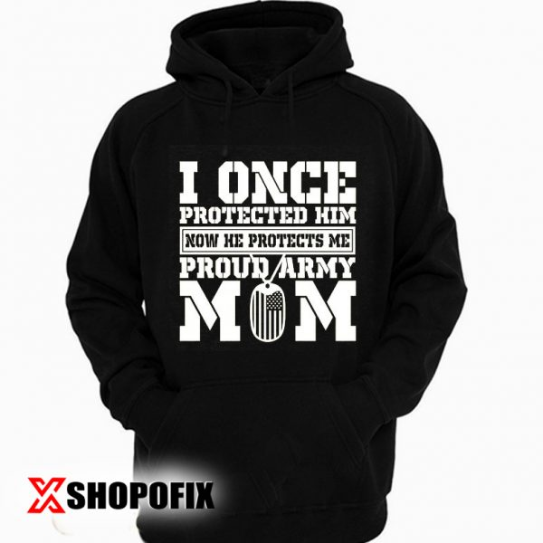 army mom quotes hoodie