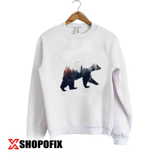 Bear and Forest sweatshirt