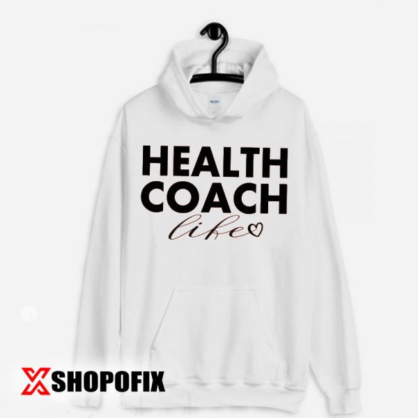 health coach certification hoodie