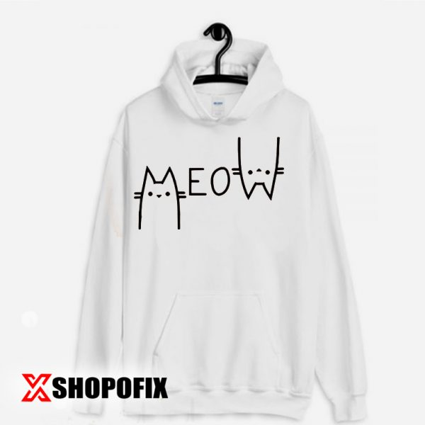meow the cat pet dance song hoodie