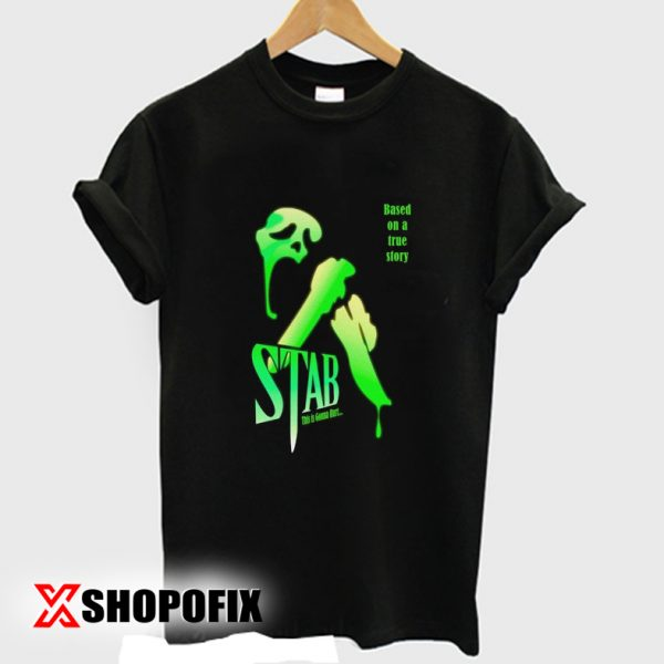 stab from scream tshirt