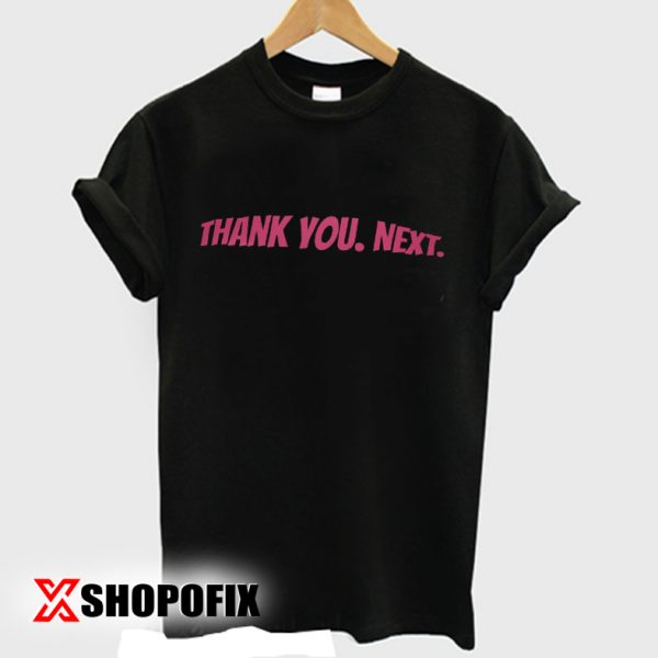 thank you next t shirt