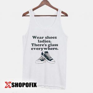Wear shoes ladies tanktop