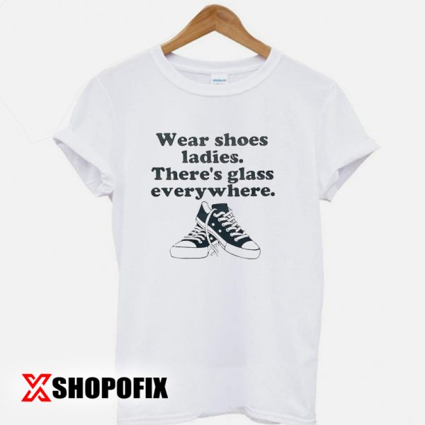 Wear shoes ladies shirt